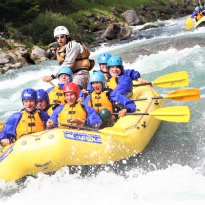 "Rafting center ""Val di Sole"" Valley"