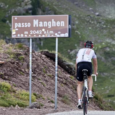 La tappa del passo Manghen - 25Km